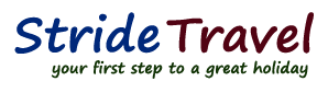 Stride Travel logo