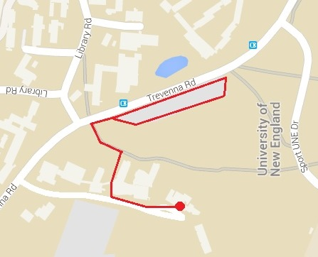 Roadshow map NSW armidale small