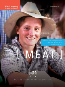 Meat Poster